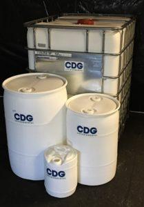 barrels full of chlorine dioxide